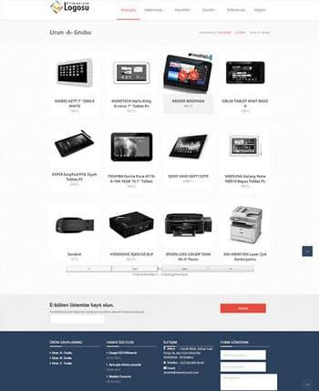 Athena site tasarımı hazır web sitesi
