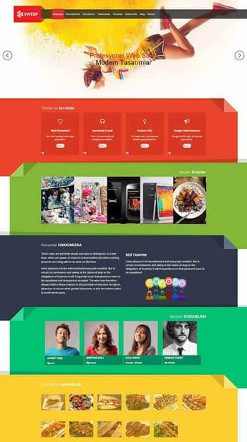 Ares site tasarımı hazır web sitesi