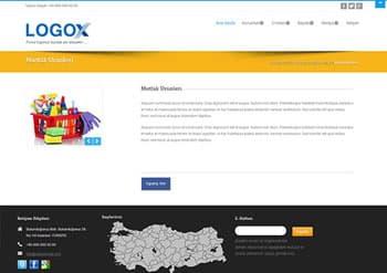 Zeus site tasarımı hazır web sitesi