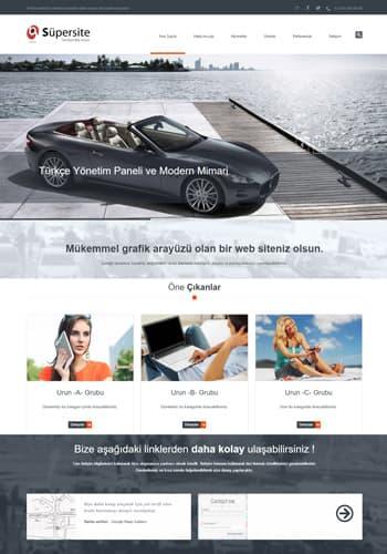 Apollon site tasarımı hazır web sitesi